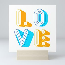Love [illustration] Mini Art Print