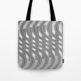 Crazy greylines 3 Tote Bag