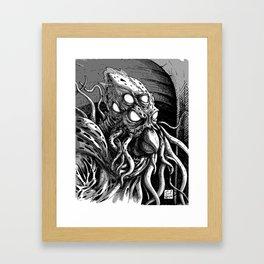 Eldar God Framed Art Print