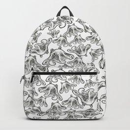 Octopus Print Backpack