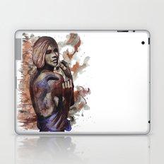 Lara ink by carographic, Carolyn Mielke Laptop & iPad Skin