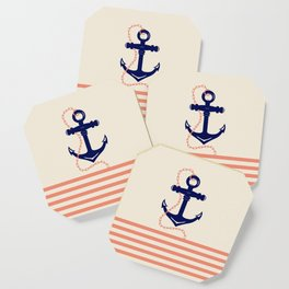 AFE Navy Anchor and Chain Coaster
