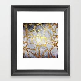 KINTSUGI  ::  Recognise Beauty Framed Art Print