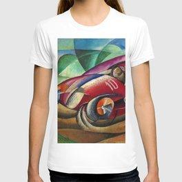 Italian Luxury Sport Racing 'Senza titolo' by Ugo Gianattasio T-shirt