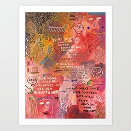 Every New Day Art Print