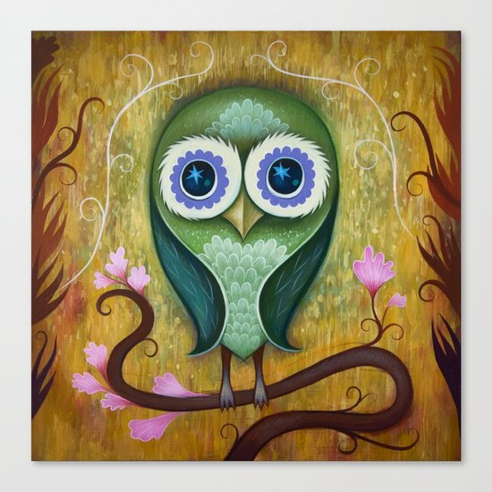Day Owl Canvas Print