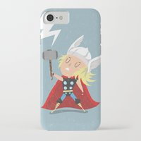 thor iPhone & iPod Cases featuring Thor by Rod Perich
