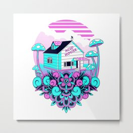 Acid House Metal Print