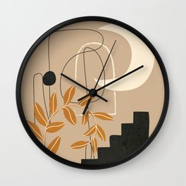 Abstract Shapes 05 Wall Clock