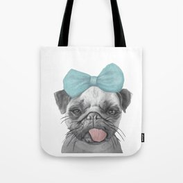 Pug Love Tote Bag