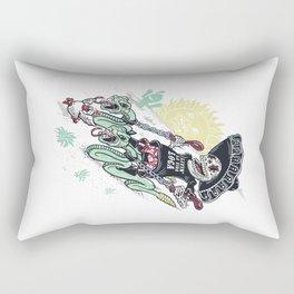 livin la vida loca Rectangular Pillow