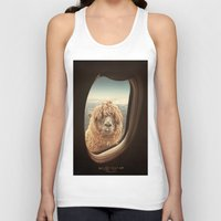 morning Tank Tops featuring QUÈ PASA? by Monika Strigel