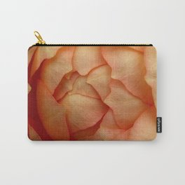 Peach Rose 62 Carry-All Pouch