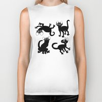 musa Biker Tanks featuring 4cats by musa