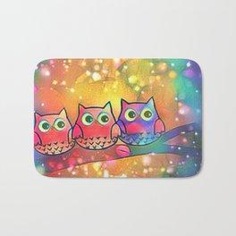 owl 144 Bath Mat