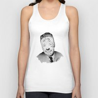 liam payne Tank Tops featuring Liam Payne with painted face by Drawpassionn