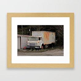 Good ol' Rusty Framed Art Print