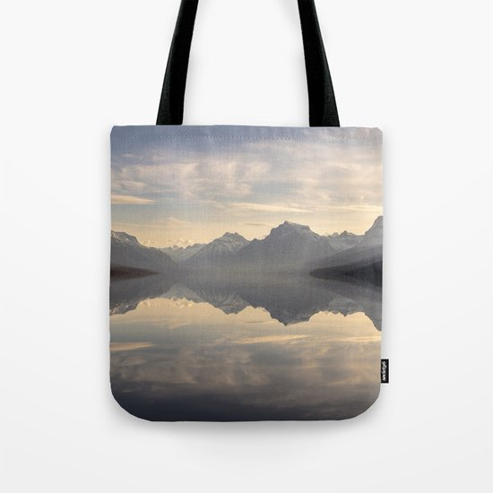 Landscape Reflections #mountain Tote Bag