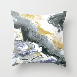 Keep striving Throw Pillow