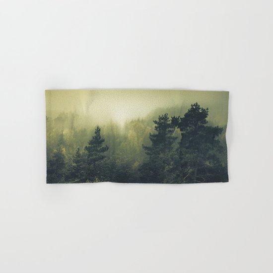Forests never sleep Hand & Bath Towel
