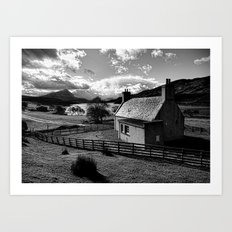 Glen Hope Art Print