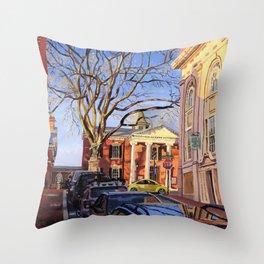 KJP, C-ville, VA Throw Pillow