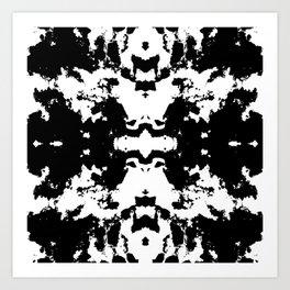 Oil Spill Art Print