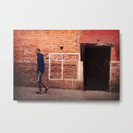 The Teen of Marrakech  Metal Print