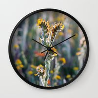 zelda Wall Clocks featuring Zelda by Miss York Photography