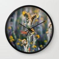 zelda Wall Clocks featuring Zelda by Miss York Prints