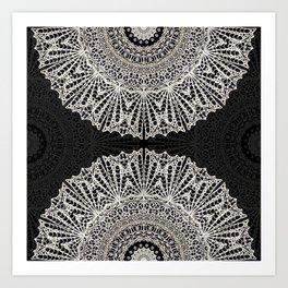 Mandala Mehndi Style G384 Art Print