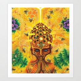 Hive-Mind Art Print
