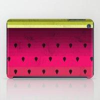 watermelon iPad Cases featuring Watermelon by Kakel