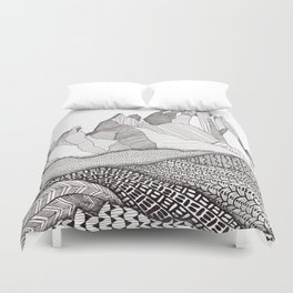 Patterns on Patagonia Duvet Cover