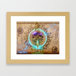 GODDESS OF PROCESSING (The American Gods Collection) Framed Art Print