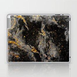 Galaxy (black gold) Laptop & iPad Skin
