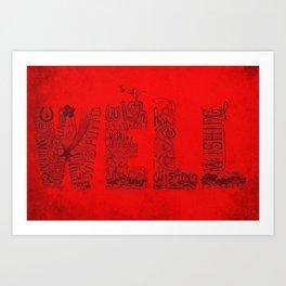 Wishing Well  Art Print
