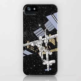 ISS- International Space Station iPhone Case