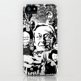 LOST IN TIME - black universe iPhone Case
