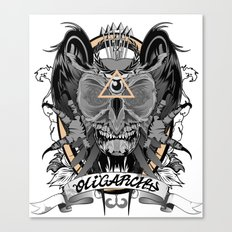 Oligarchy Canvas Print