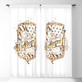 Hufflepuff Crest Blackout Curtain