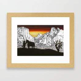 It's A Wild West Out There Framed Art Print