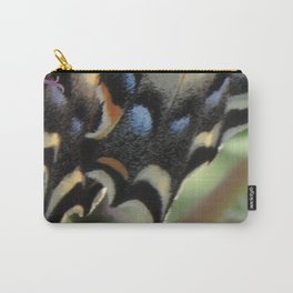 Detail of a Swallowtail Carry-All Pouch