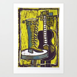"""""""She Danced right out of Her Shoe"""" Art Print"""