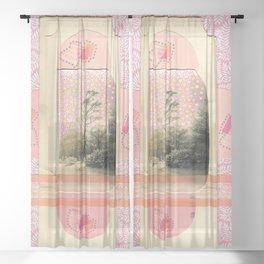 Unicorn Park Sheer Curtain