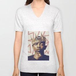 King Kendrick Unisex V-Neck