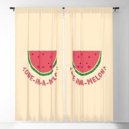 One in a Melon (Watermelon) Blackout Curtain