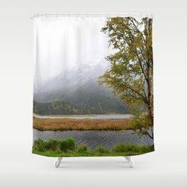Season's First Snow II Shower Curtain