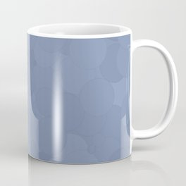 Stonewash Bubble Dot Color Accent Coffee Mug