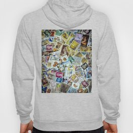 Postage Stamp Collection Hoody